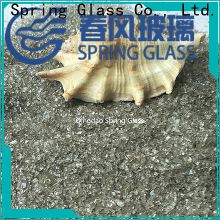 Spring Glass wholesale decorative crushed glass for busniess for sale