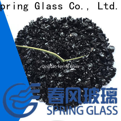 Spring Glass porcelain decorative crushed glass factory for sale