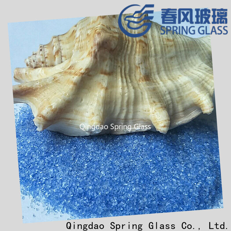 Spring Glass decorative crushed glass manufacturer for sale