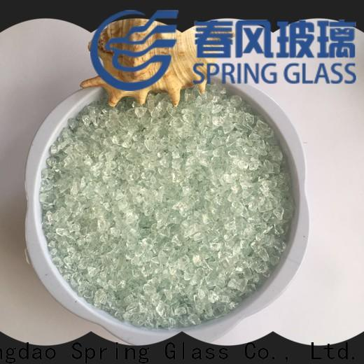 Spring Glass new decorative crushed glass manufacturer for kitchen