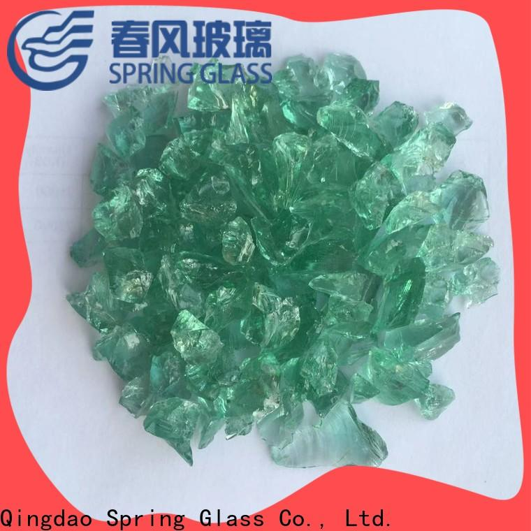 Spring Glass light decorative crushed glass for busniess for decoration