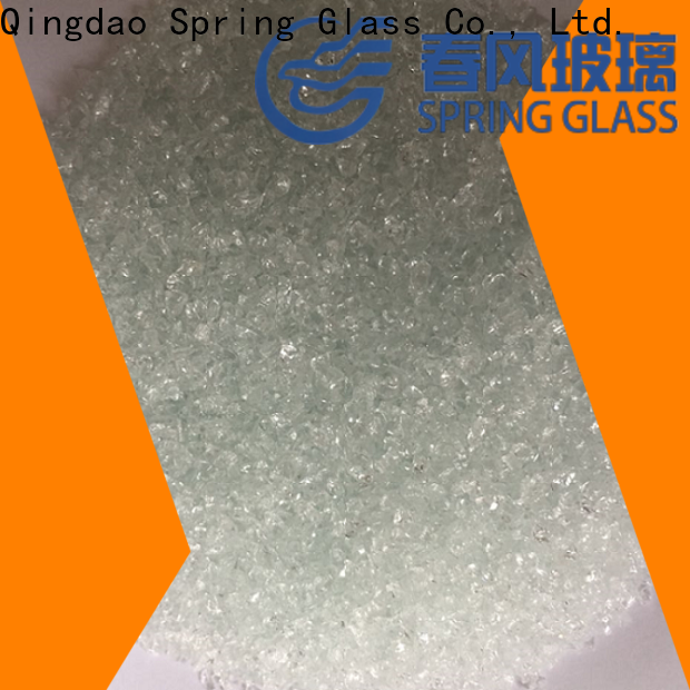 Spring Glass best recycled crushed glass manufacturer for kitchen
