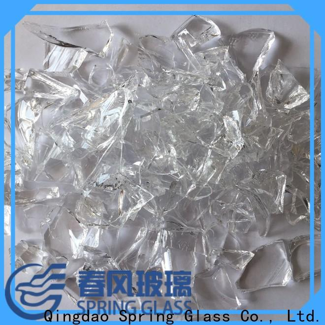 Spring Glass glass cullet manufacturer for fire place