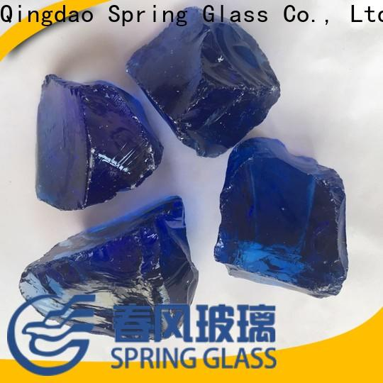 Spring Glass wholesale glass rocks manufacturer for home