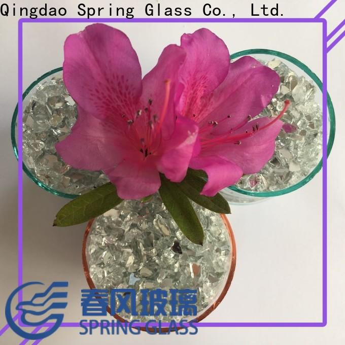 Spring Glass top crushed glass chips for busniess for decoration