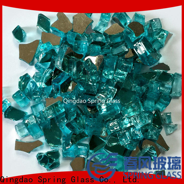light glass rocks company for garden