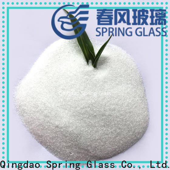custom crushed glass powder company for paving