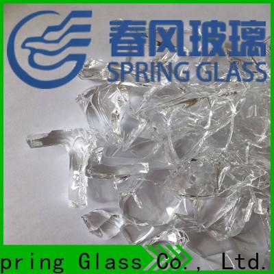 Spring Glass cullet company for fire place