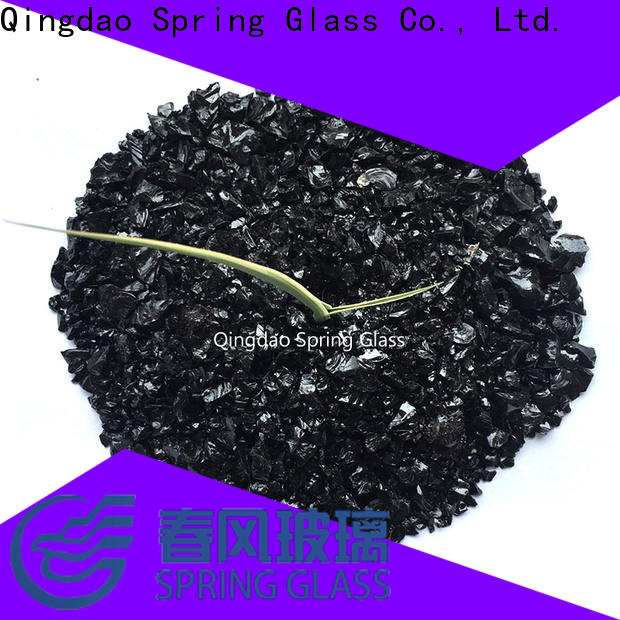Spring Glass wholesale decorative crushed glass manufacturer for decoration