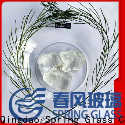 best landscaping glass rocks factory for home