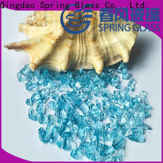 european crushed glass for busniess for decoration