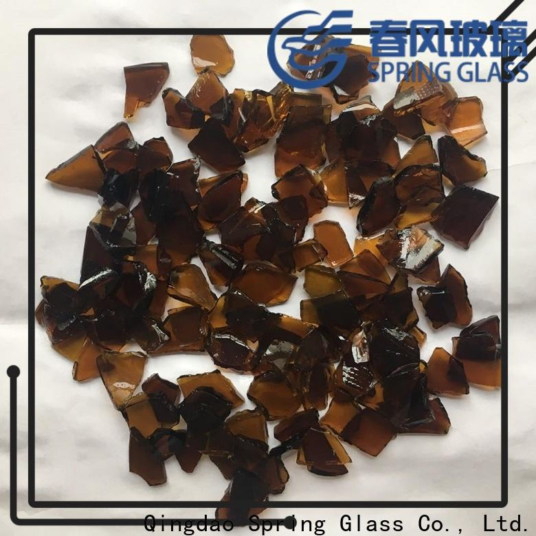 Spring Glass wholesale glass cullet chips for water filtration
