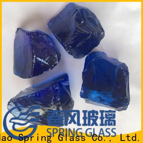 top glass rocks factory for square