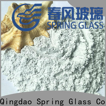 high quality crushed glass powder company for paving
