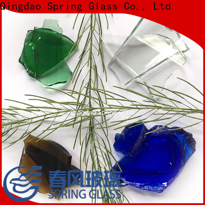 sheet glass cullet fast delivery for fire pit