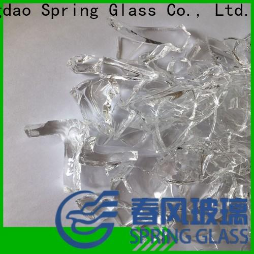 Spring Glass sheet cullet supplier for fire place