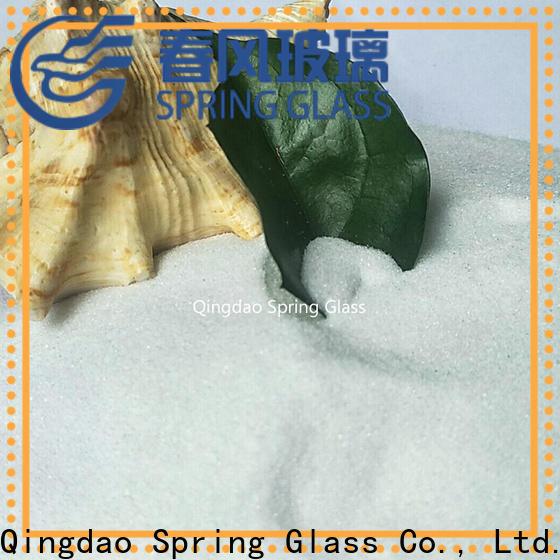 Spring Glass light crushed glass manufacturer for sale