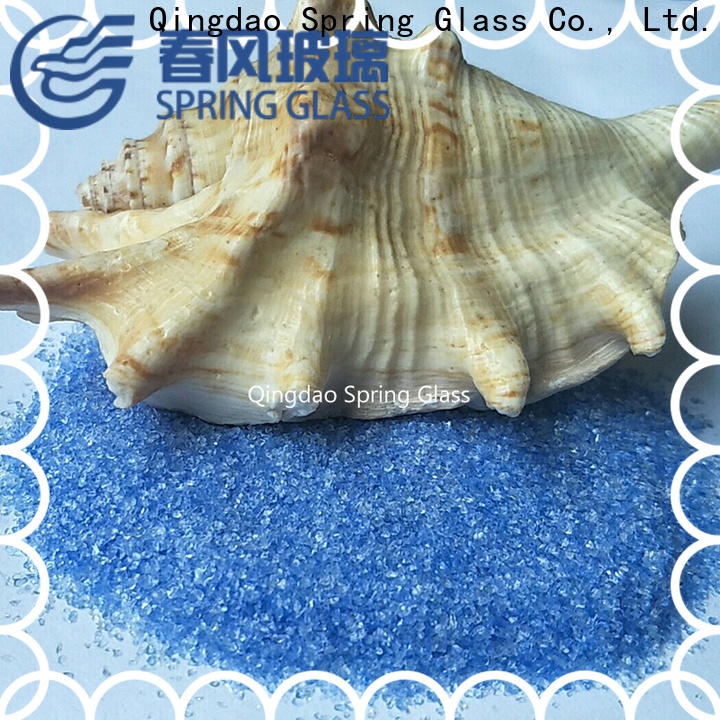 Spring Glass crushed glass company for floor