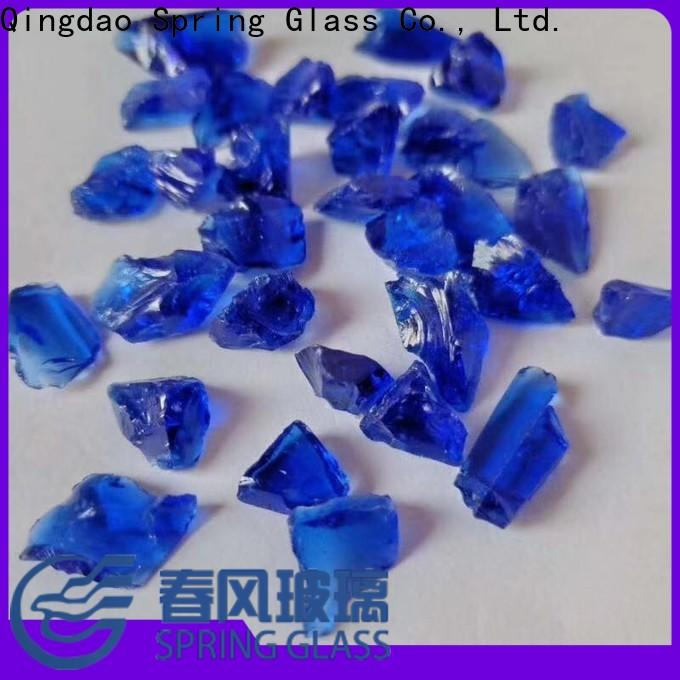 Spring Glass new landscaping glass rocks supplier for decoration