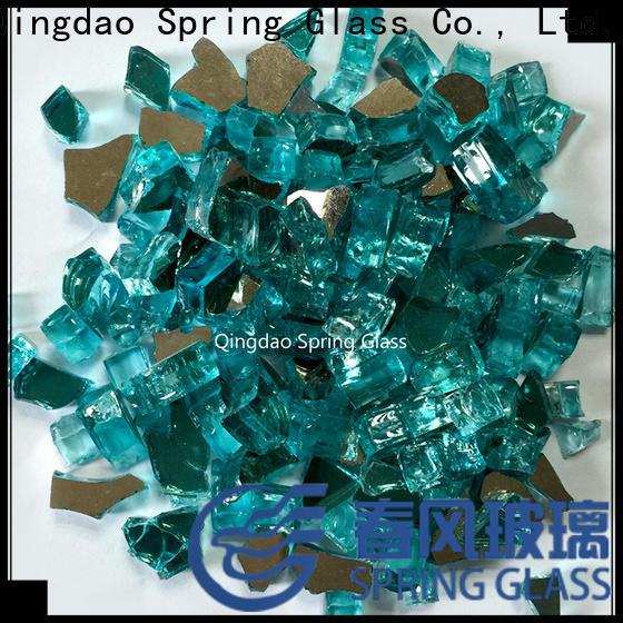 Spring Glass glass rocks supplier for home