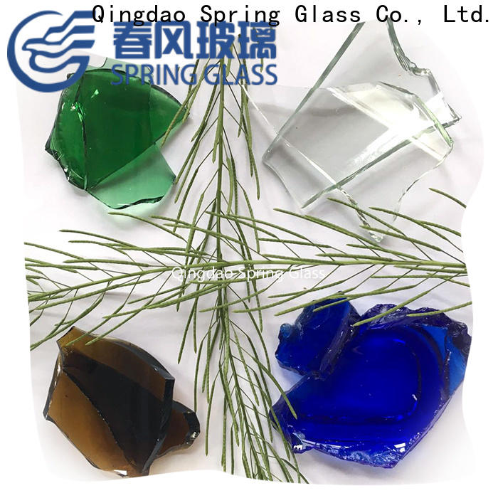 Spring Glass top glass cullet for busniess for water filtration