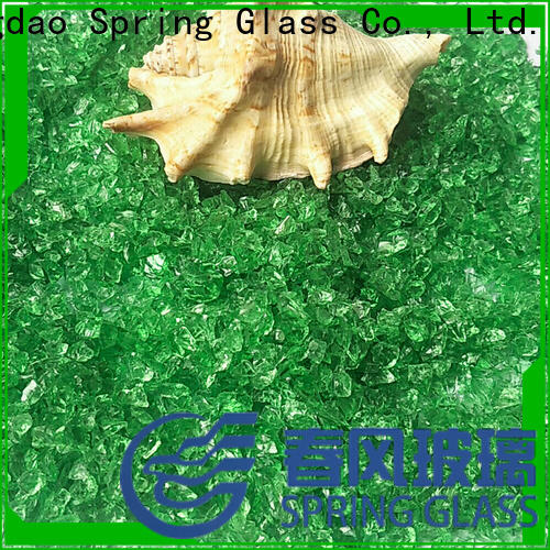 Spring Glass wholesale decorative crushed glass manufacturer for kitchen