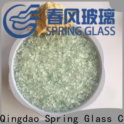 Spring Glass light crushed glass for busniess for floor