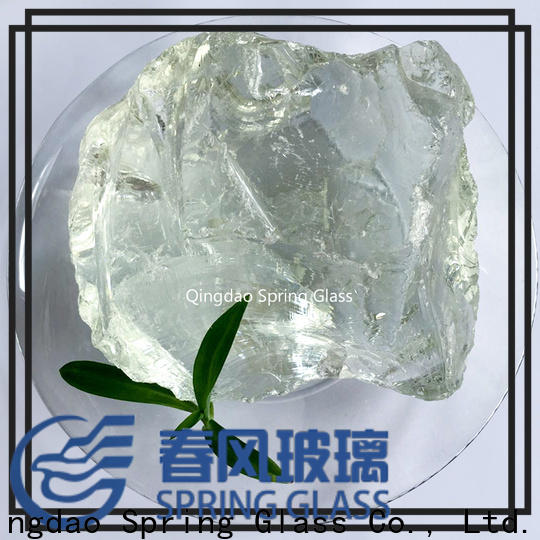 Spring Glass high quality glass rocks manufacturer for garden