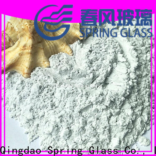 Spring Glass crushed glass powder factory for industry