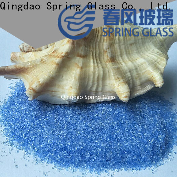 porcelain recycled crushed glass factory for decoration