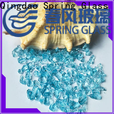 Spring Glass decorative crushed glass company for kitchen
