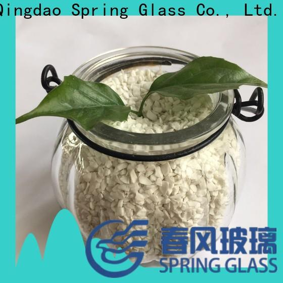 best decorative crushed glass for busniess for floor