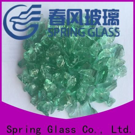 Spring Glass crushed glass manufacturer for floor