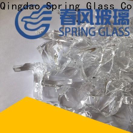 Spring Glass cullet manufacturer for fire bottle
