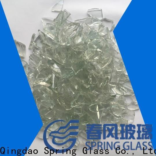 Spring Glass wholesale cullet manufacturer for fire bottle