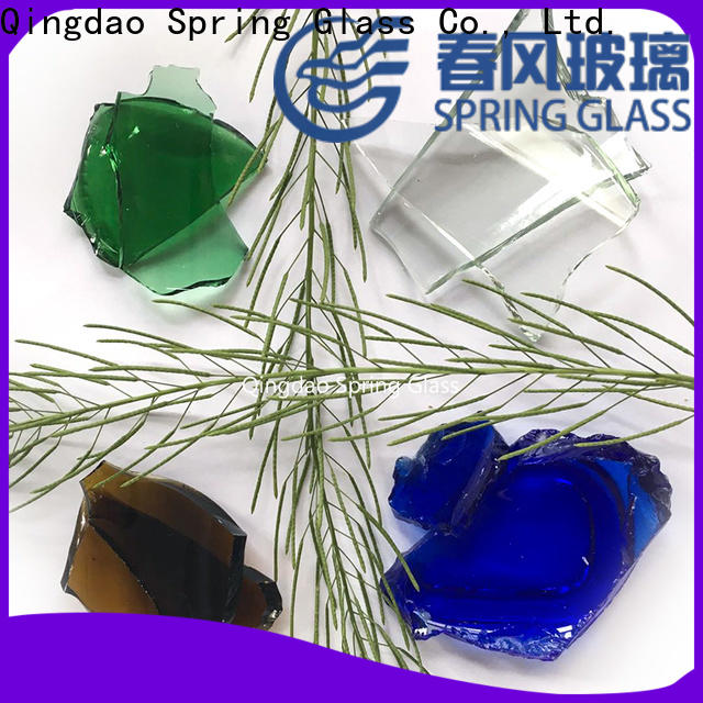 Spring Glass float cullet chips for water filtration