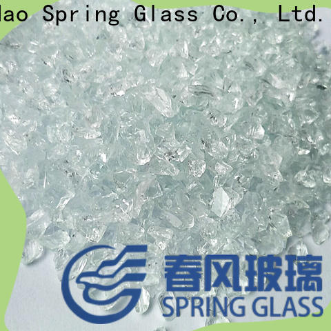 Spring Glass recycled crushed glass factory for kitchen