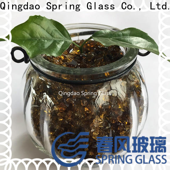 Spring Glass superior quality crushed glass for busniess for floor