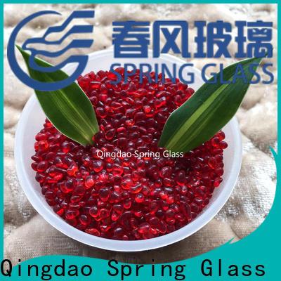 Spring Glass new glass gravel supplier for garden