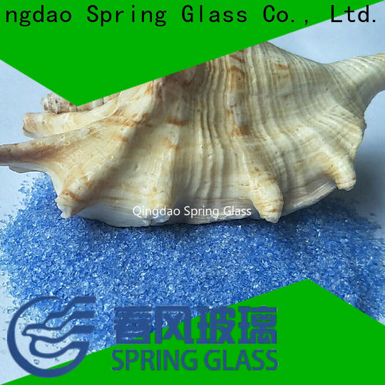 Spring Glass normal crushed glass manufacturer for kitchen