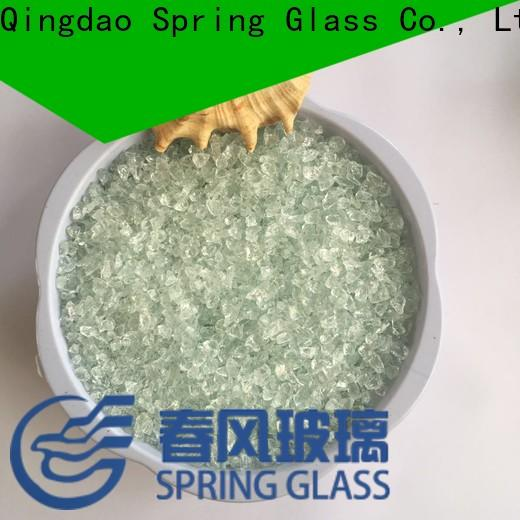 Spring Glass decorative crushed glass company for decoration