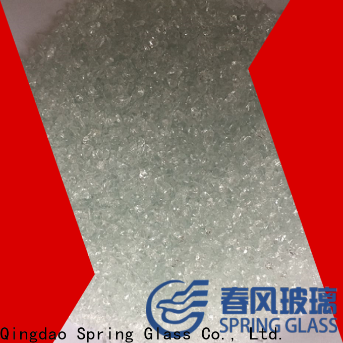 Spring Glass recycled recycled crushed glass supplier for floor