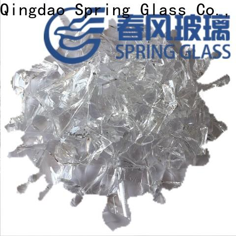 Spring Glass glass cullet for busniess for fire bottle