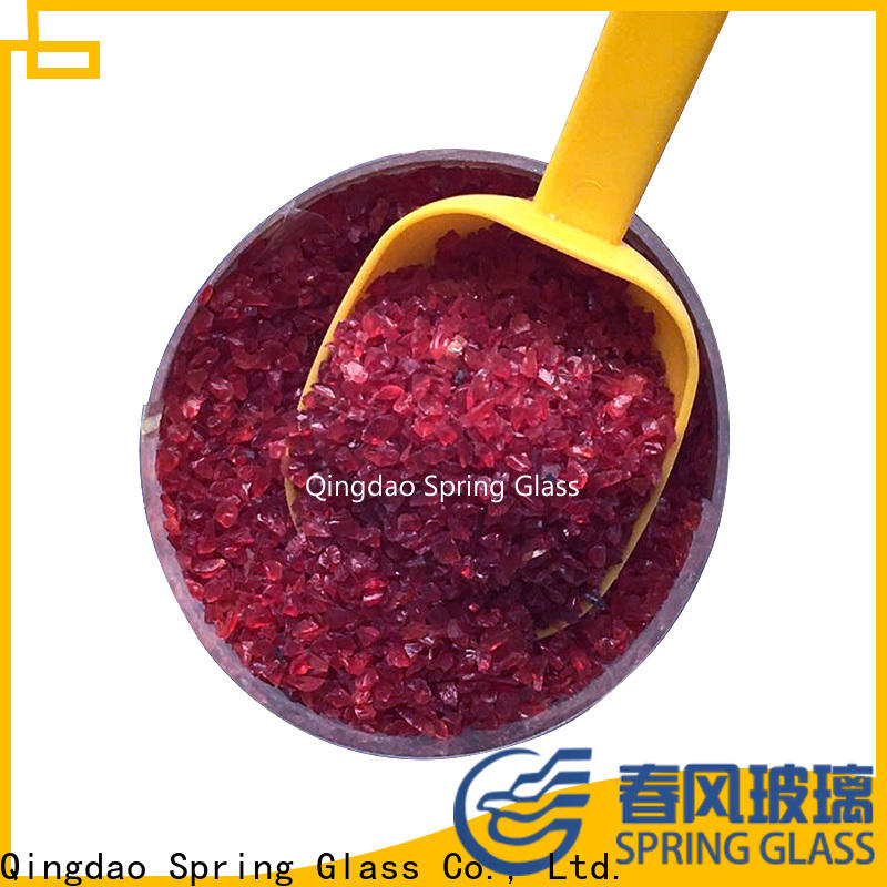 porcelain crushed glass factory for floor