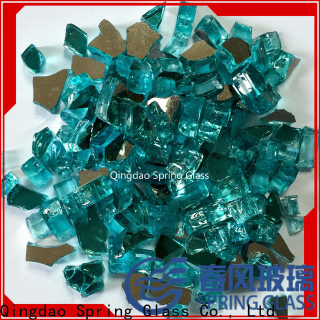 fire landscaping glass rocks factory for square