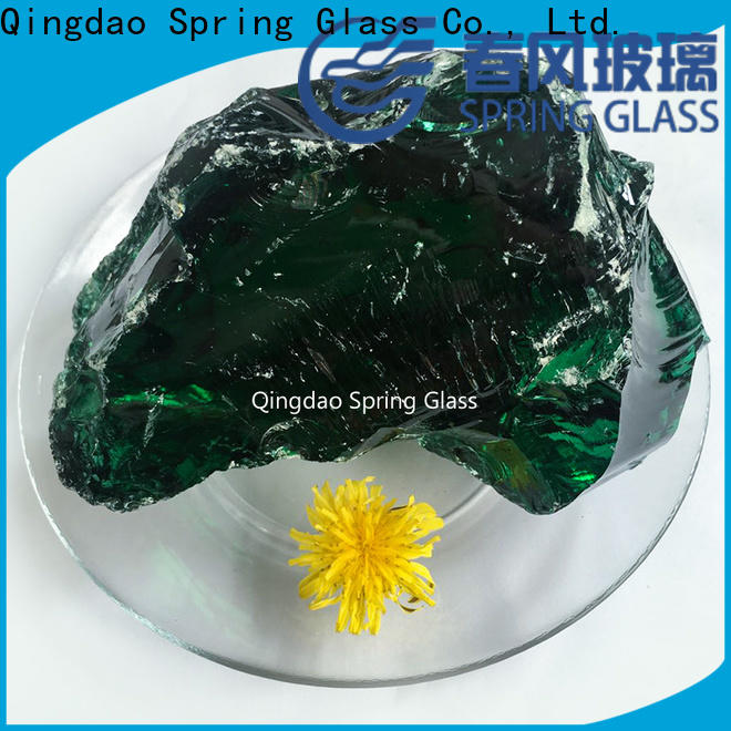 Spring Glass best fire glass rocks company for decoration