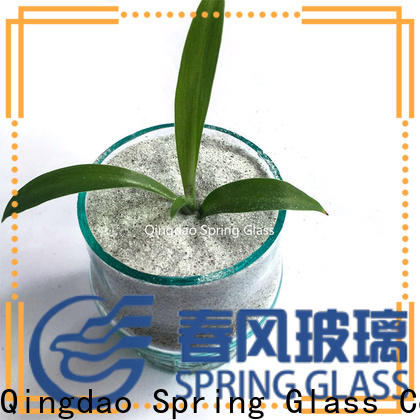 silver crushed glass chips manufacturer for sale