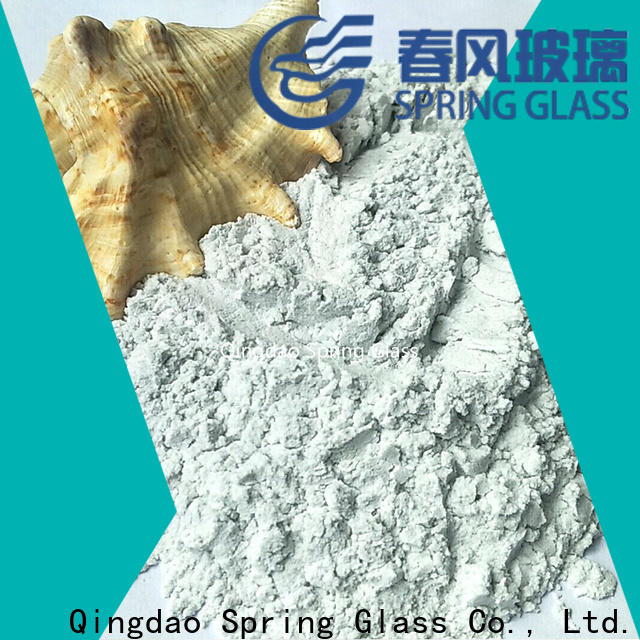Spring Glass new crushed glass powder company for industry