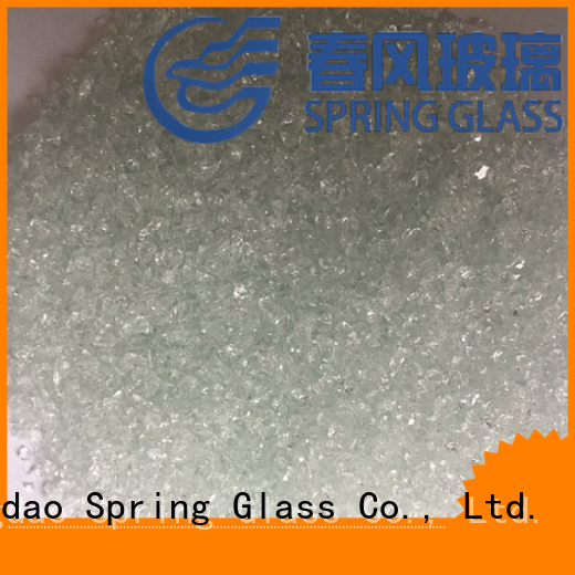 Spring Glass dark recycled crushed glass company for kitchen