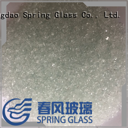 Spring Glass decorative crushed glass company for sale